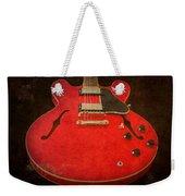 Gibson Es-335 Electric Guitar Body Weekender Tote Bag