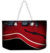 Gibson Es-335 Electric Guitar Weekender Tote Bag