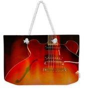 Gibson Es-335 On Fire Weekender Tote Bag