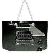 Black And White Les Paul Weekender Tote Bag