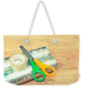Gift Wrapping Weekender Tote Bag