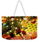 Gifts Under Christmas Tree Weekender Tote Bag by Elena Elisseeva