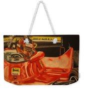 Gilles Villeneuve At Monaco 1980 Weekender Tote Bag