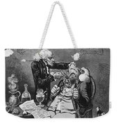 Gillray Cartoon: Quack Weekender Tote Bag
