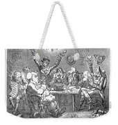 Gillray: Tavern, 1801 Weekender Tote Bag