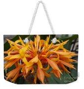 Ginger Flower Weekender Tote Bag