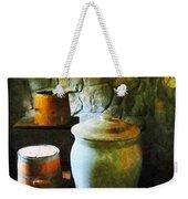 Ginger Jar And Buckets Weekender Tote Bag
