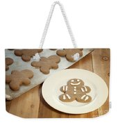 Gingerbread Cookies Weekender Tote Bag by Juli Scalzi