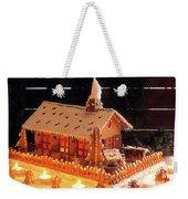 Gingerbread House, Traditional Weekender Tote Bag
