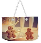 Gingerbread Men Weekender Tote Bag
