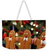 Gingerbread Men In A Line Weekender Tote Bag