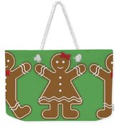Gingerbread People Weekender Tote Bag