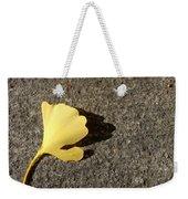 Ginkgo Leaf Weekender Tote Bag