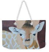 Giraffe Baby Weekender Tote Bag