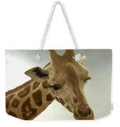Giraffe Weekender Tote Bag