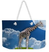 Giraffe Flying High Weekender Tote Bag