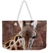 Giraffe Head Weekender Tote Bag