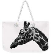 Giraffe Head Shot Weekender Tote Bag