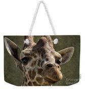 Giraffe Hey Are You Looking At Me Weekender Tote Bag