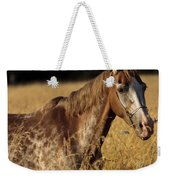 Giraffe Horse Weekender Tote Bag