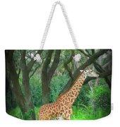 Giraffe In Florida Weekender Tote Bag