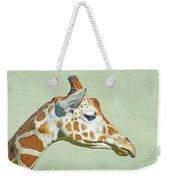 Giraffe Mug Shot Weekender Tote Bag