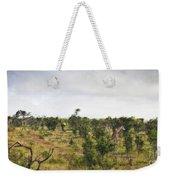 Giraffe Panorama Weekender Tote Bag