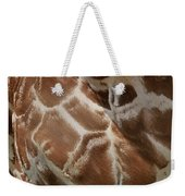 Giraffe Patterns Weekender Tote Bag