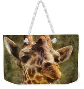 Giraffe Photo Art 01 Weekender Tote Bag