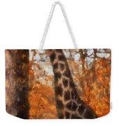 Giraffe Photo Art 03 Weekender Tote Bag