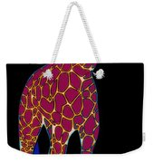 Giraffe Pop Art Weekender Tote Bag