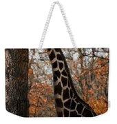 Giraffe Posing Weekender Tote Bag