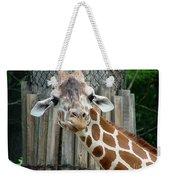 Giraffe-really-09025 Weekender Tote Bag
