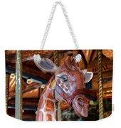 Giraffe Ride Weekender Tote Bag