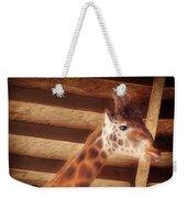 Giraffe Smarty Weekender Tote Bag