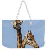 Giraffes 1 Weekender Tote Bag