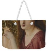 Girl At A Fountain Weekender Tote Bag