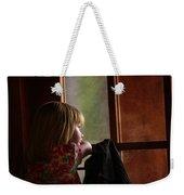 Girl At The Window Weekender Tote Bag