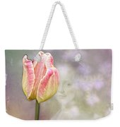 Girl In The Garden Weekender Tote Bag