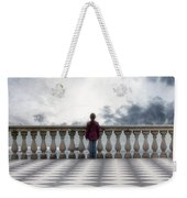 Girl On A Terrace Weekender Tote Bag by Joana Kruse