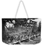 Girl Scout Picnic Weekender Tote Bag