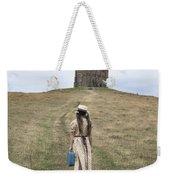 Girl Walks To A Chapel Weekender Tote Bag
