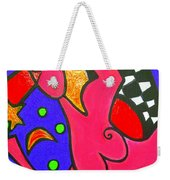Girl With A Dimple Weekender Tote Bag