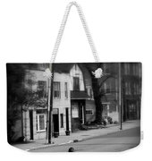 Girl With Dog - Somewhere In America Weekender Tote Bag