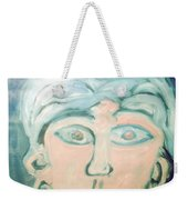 Girl With Ear Rings Weekender Tote Bag