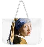 Girl With Pearl Earring Flip Side Weekender Tote Bag