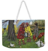 Girls Are Better Weekender Tote Bag by Linda Simon