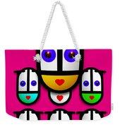 Girls Weekender Tote Bag