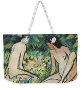 Girls In The Open Air Weekender Tote Bag by Otto Mueller or Muller