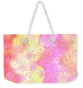 Girlz Only Abstract Weekender Tote Bag